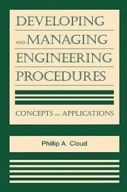 预订Developing and Managing Engineering Procedures