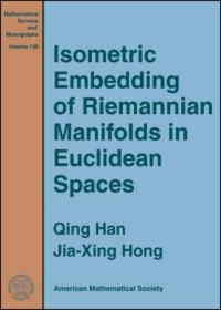 预订Isometric Embedding of Riemannian Manifolds in Euclidean Spaces
