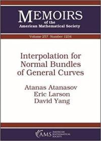 预订Interpolation for Normal Bundles of General Curves