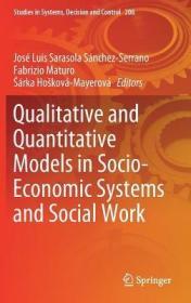 预订Qualitative and Quantitative Models in Socio-Economic Systems and Social Work