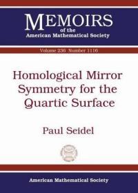 预订Homological Mirror Symmetry for the Quartic Surface