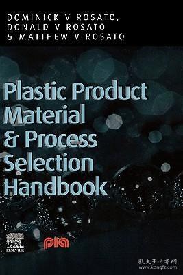 预订 高被引图书Plastic Product Material and Process Selection Handbook