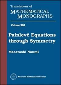 预订Painleve? equations through symmetry