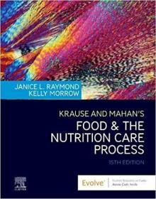 预订Krause and Mahan's Food & the Nutrition Care Process