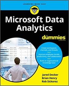 预订Microsoft Data Analytics for Dummies
