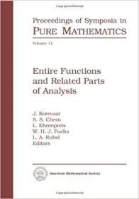 预订Entire Functions and Related Parts of Analysis