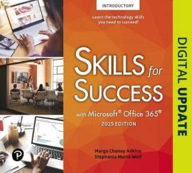 预订Skills for Success with Microsoft Office 2019 Introductory