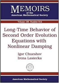 预订Long-Time Behavior of Second Order Evolution Equations with Nonlinear Damping