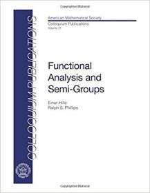 预订Functional Analysis and Semi-groups