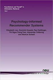 预订Psychology-informed Recommender Systems