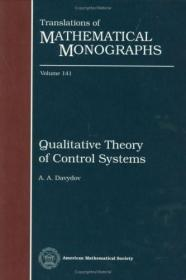 预订Qualitative Theory of Control Systems
