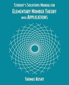 预订Elementary Number Theory with Applications, Student Solutions Manual