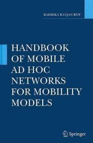预订 高被引图书Handbook of Mobile Ad Hoc Networks for Mobility Models