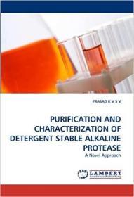 预订 Purification and Characterization of Detergent