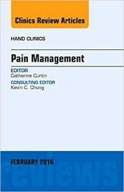 预订Pain Management, An Issue of Hand Clinics