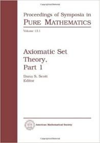 预订Axiomatic Set Theory, Part 1