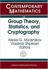 预订Group Theory, Statistics, and Cryptography