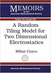 预订A Random Tiling Model for Two Dimensional Electrostatics