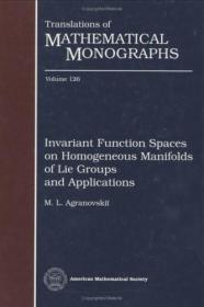 预订Invariant Function Spaces on Homogeneous Manifolds of Lie Groups and Applications