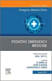 预订Pediatric Emergency Medicine, an Issue of Emergency Medicine Clinics of North America, 39