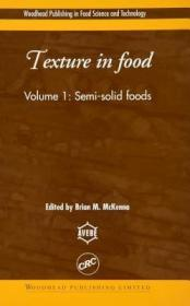 预订Texture in Food