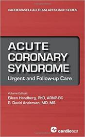 预订 Acute Coronary Syndrome