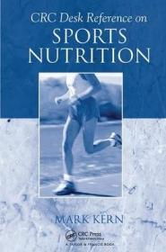 预订CRC Desk Reference on Sports Nutrition