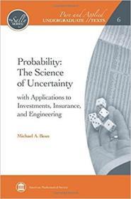 预订Probability: The Science of Uncertainty: with Applications to Investments, Insurance, and Engineering