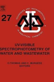 预订UV-visible Spectrophotometry of Water and Wastewater