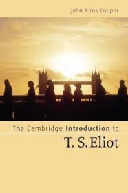 预订 The Cambridge Introduction to T. S. Eliot