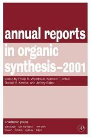 预订Annual Reports in Organic Synthesis 2001