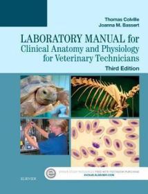 预订Laboratory Manual for Clinical Anatomy and Physiology for Veterinary Technicians