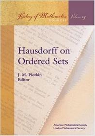 预订Hausdorff on Ordered Sets