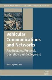 预订Vehicular Communications and Networks