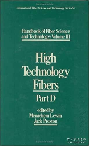 预订 高被引图书Handbook of Fiber Science and Technology Volume3: High Technology Fibers: Part D