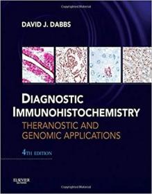 预订 Diagnostic Immunohistochemistry: Theranostic an