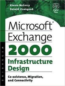 预订Microsoft Exchange 2000 Infrastructure Design