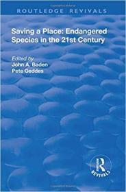 预订Saving a Place: Endangered Species in the 21st Century
