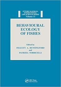 预订Behavioural Ecology of Fishes