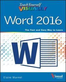 预订Teach Yourself Visually Word 2016
