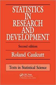 预订Statistics in Research and Development