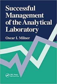 预订Successful Management of the Analytical Laboratory