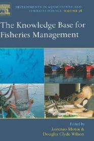 预订The Knowledge Base for Fisheries Management