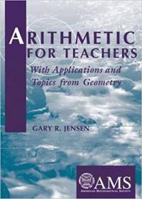 预订Arithmetic for Teachers