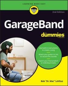 预订GarageBand for Dummies