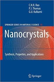 预订Nanocrystals:: Synthesis, Properties and Applications