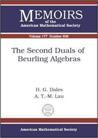 预订The Second Duals of Beurling Algebras