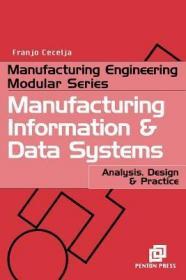 预订Manufacturing Information and Data Systems