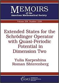 预订Extended States for the Schrodinger Operator with Quasi-Periodic Potential in Dimension Two