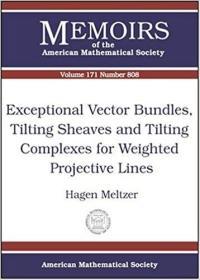 预订Exceptional Vector Bundles, Tilting Sheaves and Tilting Complexes for Weighted Projective Lines